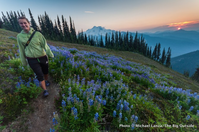 Liberty Cap, Glacier Peak Wilderness, Washington.