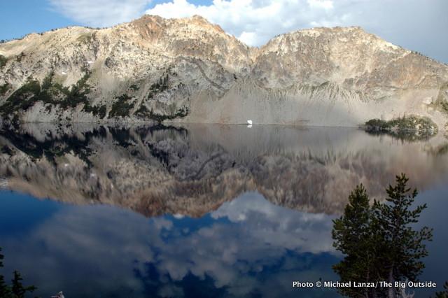 Sawtooth Lake in the Sawtooth Mountains.