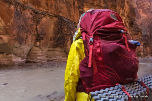 Osprey Ace 38 kids backpack.