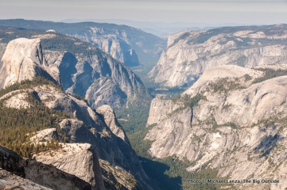 Yosemite Valley from Clouds Rest.