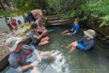 Loon Creek hot spring.