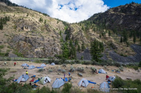 Stoddard camp, Middle Fork Salmon River.