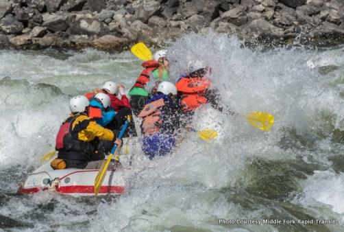 Cramer Rapid, Salmon River.