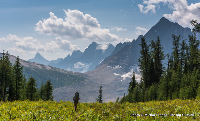 Backpacking the Rockwall Trail in Canada's Kootenay National Park.