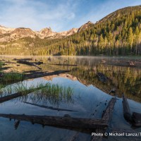 Hell Roaring Lake, Sawtooth Mountains, Idaho.
