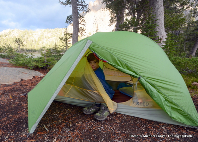 Exped Mira II Hyperlite tent.