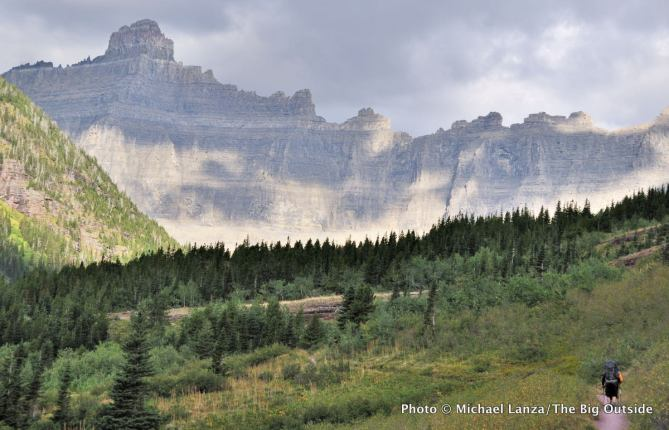 Backpacking the Ptarmigan Tunnel Trail, Glacier National Park.
