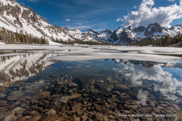 Alice Lake, Sawtooth Mountains, Idaho.