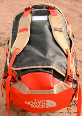 The North Face Base Camp Duffel top.