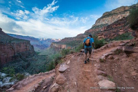 Bright Angel Trail, Grand Canyon.