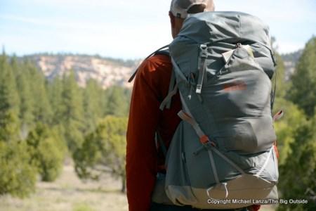 REI Flash 45 in Utah's Dark Canyon Wilderness.
