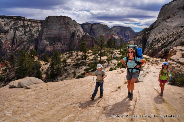 The West Rim Trail, Zion National Park.