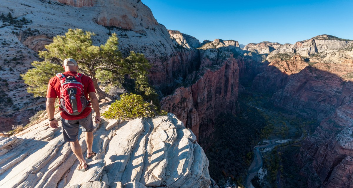 Hiking Angels Landing in Zion National Park
