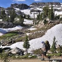 South Fork Cascade Canyon, Teton Crest Trail, Grand Teton National Park.