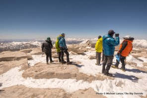 Summit of Mount Whitney.