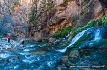 David Gordon at Big Spring in the Narrows, Zion National Park.
