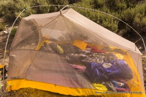 Big Agnes Fly Creek HV UL3 canopy.