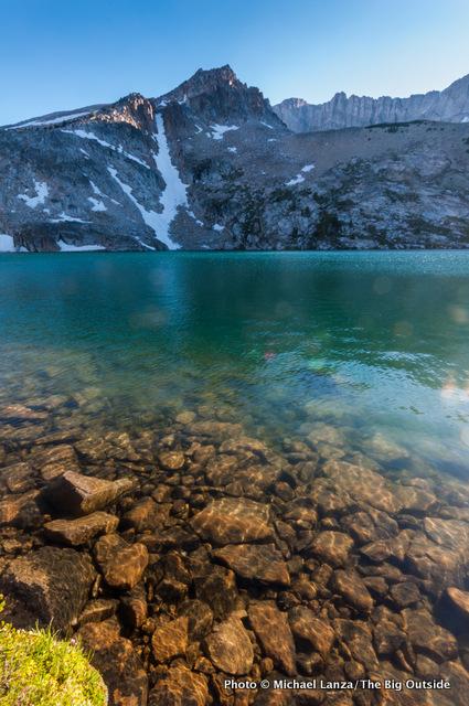 Sapphire Lake, Big Boulder Lakes.
