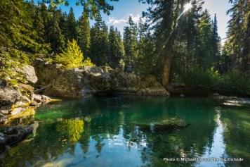 Pond on Clear Creek, North Cascades National Park.