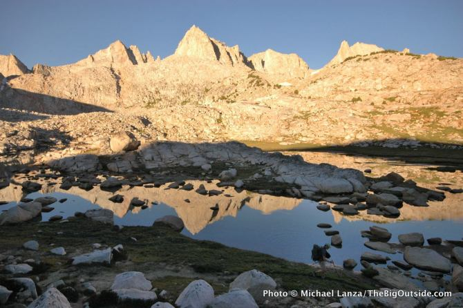 Granite Park, John Muir Wilderness, California.