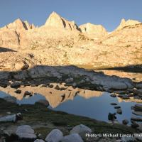 Granite Park, John Muir Wilderness, California.