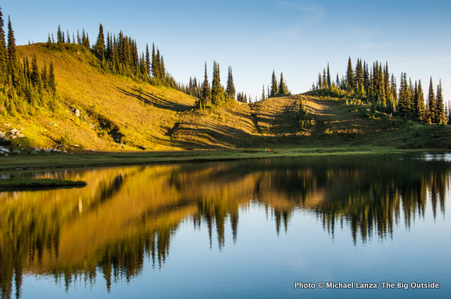 Image Lake, Glacier Peak Wilderness, Washington.