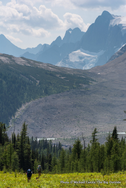 Rockwall Pass Trail, Kootenay National Park.