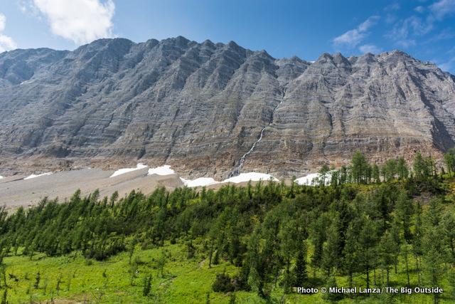 Rockwall Pass Trail.