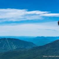 Mark Fenton hiking the Osgood Trail, Presidential Range, N.H.