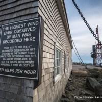 Mount Washington summit building.
