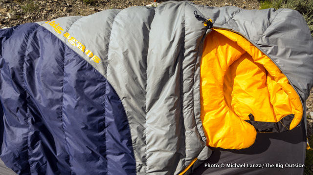 Big Agnes Boot Jack 25 sleeping bag.