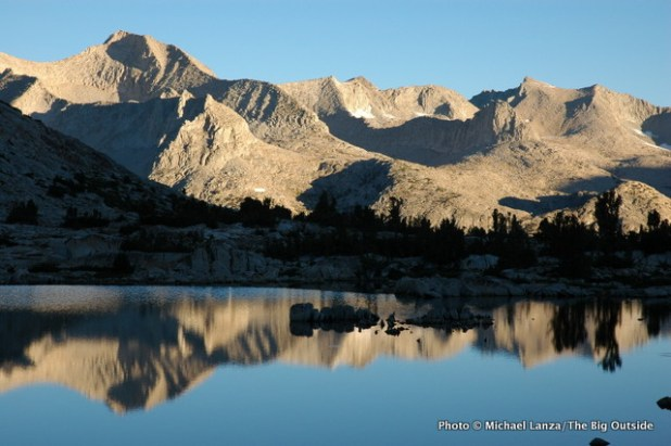 Lake Marjorie, John Muir Trail, Kings Canyon National Park.