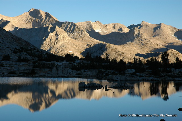 Lake Marjorie, John Muir Trail, Kings Canyon National Park.