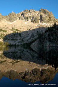 Upper Cramer Lake, Sawtooth Mountains, Idaho.