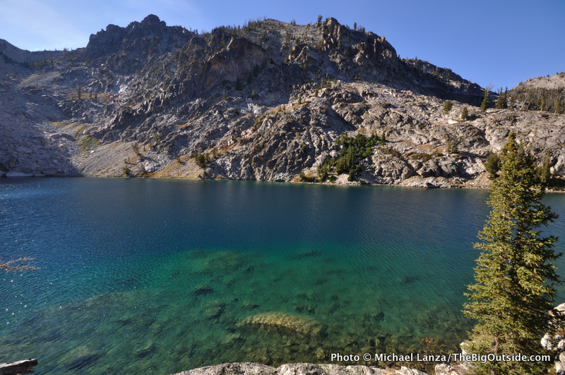 Upper Bench Lake, Sawtooth Mountains, Idaho.