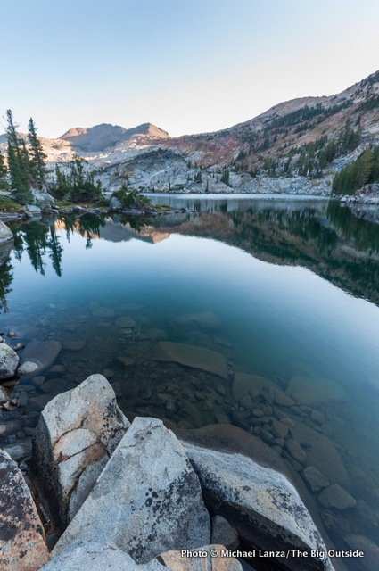 Fontanillis Lake, Desolation Wilderness.