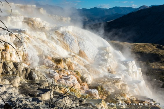 Mammoth Hot Springs, Yellowstone.