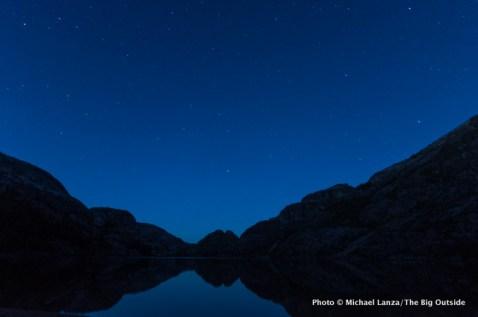 Benson Lake in Yosemite.