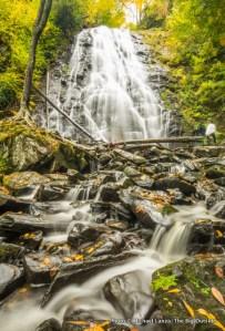 Crabtree Falls, along the Blue Ridge Parkway.