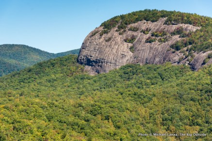 Looking Glass Rock seen from John Rock.