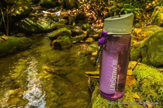 LifeStraw Go with 2-stage filtration.
