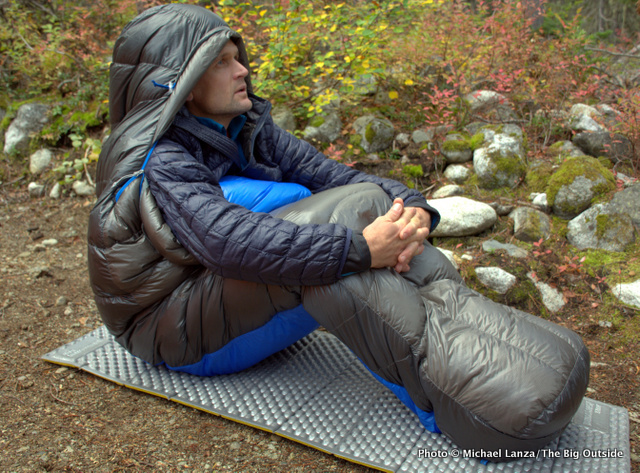 Marmot Ion 20 sleeping bag.