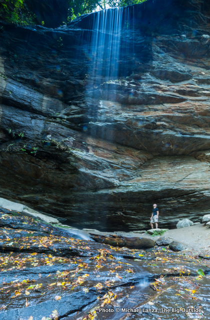 Moore Cove in North Carolina's Pisgah National Forest.
