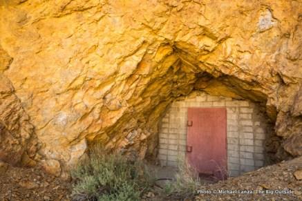 Abandoned mine above Panamint City.