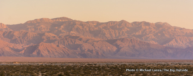 Panamint Range, Death Valley National Park, California.