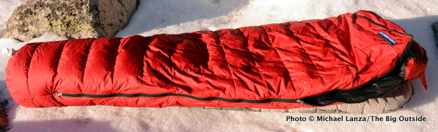 Review: Feathered Friends Snowbunting EX 0 Sleeping Bag