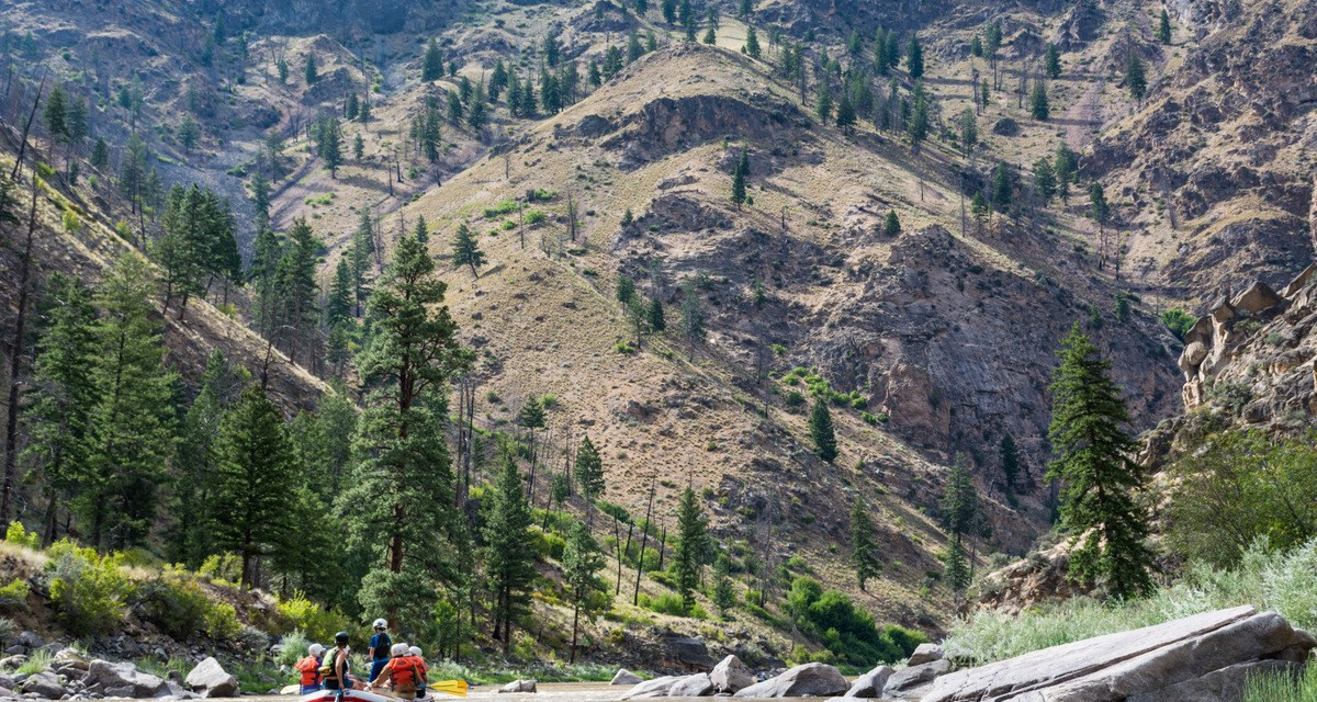 Video: Rafting Idaho's Middle Fork Salmon River