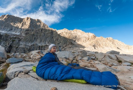 Click photo for my 10 Pro Tips For Staying Warm in a Sleeping Bag.