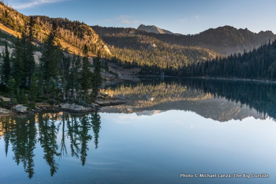 Quiet Lake, White Cloud Mountains, Idaho.