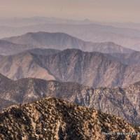 View from summit of Telescope Peak.